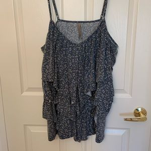 3 tiered tank top